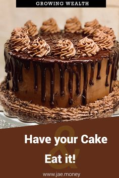 A big challenge in growing wealth, is that the assets you acquire only have single purpose utility. You can use it for one thing and one thing only. Mocha Frosting, Coffee Cake, Relleno, Sweet Recipes, Tiramisu, Deserts, Baking, Eat, Ethnic Recipes