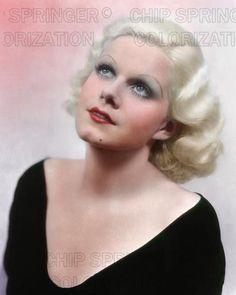 JEAN HARLOW PORTRAIT 1933 PINK BACKGROUND BEAUTIFUL COLOR PHOTO BY CHIP SPRINGER. Featured Ebay Listing. Please visit my Ebay Store, Legends of the Silver Screen, at http://legendsofthesilverscreen.com to see the current listings of your favorite Stars now in glorious color! Thanks for looking and check out my Youtube videos at https://www.youtube.com/channel/UCyX926rA5x4seARq5WC8_0w