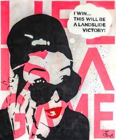 Art I Popart I Streetart I Spraypaint I Icons I Happiness I Love I Joy I Tobias Schreiber I Artist I Künstler I Audrey Hepburn I Painting