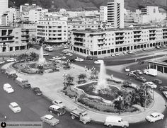 Plaza O'Leary, El Silencio, Caracas. Años 50.