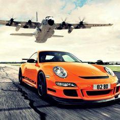 Vibrant Orange Burst of life! Porsche!