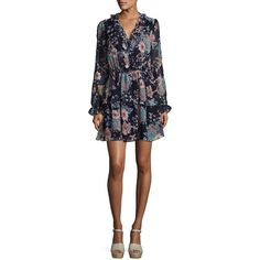 db5eb97f632 Design Lab Lord   Taylor Women s Ruffled Floral Sheath Dress ( 60) ❤ liked  on