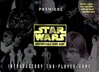 Star Wars CCG by Decipher. Up until they got bought out, it was the best card game I have ever played.