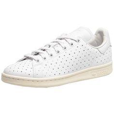 #Moderne #Sneaker in #Weiß mit lässigem #Lochmuster. #adidas #white