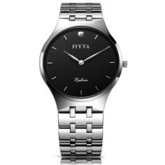 FIYTA high quality quartz Luxury designed men's classical wristwatch black new