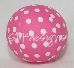 Balloon Ball TOY - Pink Large Polka Dots - Great Gift or Party Decoration 1st Birthday Favors, Great Birthday Gifts, Birthday Balloons, Birthday Parties, Polka Dot Balloons, Polka Dots, Child Love, The Balloon, Party Favors