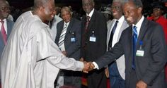 President Jonathan, Osinbajo at Redeemed Camp - The Nation