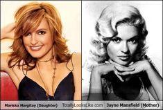 Mariska Hargitay (Daughter) Totally Looks Like Jayne Mansfield (Mother)