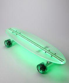 Logan wants a skateboard, maybe Ii should buy it now for when he is like ten! Green Lighted Skateboard from Flexdex on Long Skate, Skate 3, Skate Girl, Skate Decks, Skate Board, Penny Skateboard, Skateboard Design, Skateboard Girl, Skateboard Decks