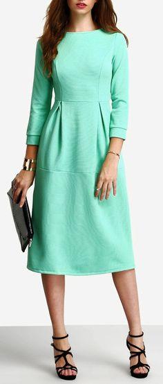 08512b37e0a Women Fashion Beautiful Dress Elbow Sleeve A Line Ankle Length Dress  shop   shopper