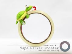 Onelmon #3: Tape Marker Monster - act 3