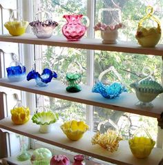 The Houston Museum of Decorative Arts has an exhibition of glass bottles, baskets and bowls.