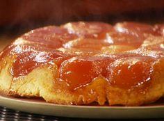 Apple Tart Tatin...    http://www.foodnetwork.com/recipes/anne-burrell/apple-tart-tatin-recipe/index.html