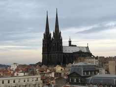 Black cathedral, Clermont-Ferrand, France