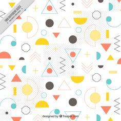 Kids Background, Memphis Design, Sale Banner, Shape Design, Motion Design, Business Card Design, Creative Art, Vector Free, Shapes