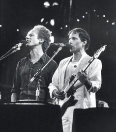 Simon and Garfunkel.  They need no explanation.