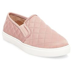 The season's most stylish slip-on, these Mossimo Supply Co. Women's Reese Sneakers boast a funky quilted upper with just the right amount of stretch. Sporty yet chic, pair them with knee-high socks and a pleated mini or any athletic-inspired ensemble.