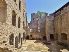 Hukvaldy Castle - Hukvaldy, Czech Republic Czech Republic, Barcelona Cathedral, Trip Advisor, Castle, Mansions, House Styles, Building, Travel, Viajes