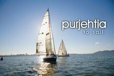 purjehtia ~ to sail