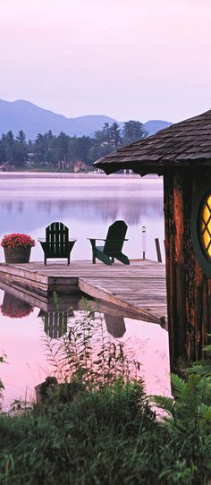 Enjoy relaxing outdoors in Lake Placid, NY - love this place!