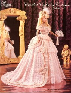 1870 Opera Gown Vol 42 Paradise Crochet Pattern