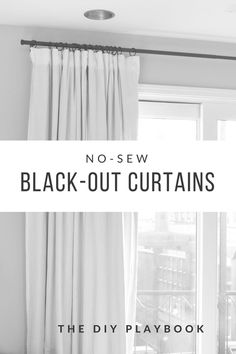 10 Easy And Cheap Tricks: Floral Curtains Mixing Patterns ikea curtains wire.No Sew Curtains Thoughts ikea curtains wire. Ikea Curtains, Diy Blackout Curtains, Living Room Decor Curtains, No Sew Curtains, Nursery Curtains, Drop Cloth Curtains, How To Make Curtains, Rustic Curtains, Hanging Curtains