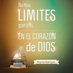 No hay límites para ti en el corazón de Dios. #MaratónicaEnlace