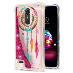 LG K30 Premier Pro LTE Harmony 2 Case with Built-in Screen Protector