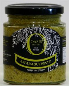 Asparagus pesto added to fish or chicken or simply toss it with pasta for a great meal.