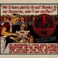 Hunger Games Propaganda Tote