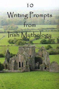 10 Writing Prompts from Irish Mythology - Quixotic Quill Creative Writing Prompts, Book Writing Tips, Writing Words, Fiction Writing, Writing Quotes, Writing Resources, Writing Help, Writing Skills, Writing Ideas