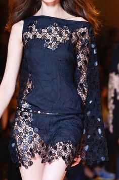 Versace at Milan Fashion Week Spring 2013.
