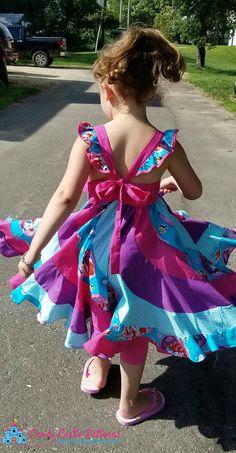 Marshmallow Swirl Mash-Up Tutorial Cute Toddler Girl Clothes, Toddler Dress Up, Toddler Summer Dresses, Little Girl Dresses, Baby Dresses, Children Clothes, Toddler Girls, Baby Girls, Little Girl Dress Patterns