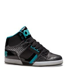 Osiris Shoes Black   White NYC 83 Hi-Top Sneaker - Kids 40372ea4570