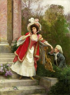 "Ballavoine Jules Frederic - Lovers (from <a href=""http://www.oldpainters.org/picture.php?/44888/category/15126""></a>)"