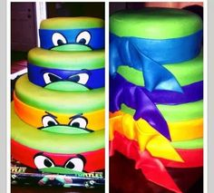Teenage Mutant Ninja Turtles!! LOL maybe just maybe for my sweet 16