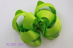 MommyCraftsAlot: HOW TO: Triple Twister hairbow tutorial by Mommy Crafts A lot