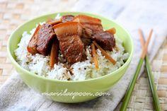Manila Spoon: Five-Spice Braised Pork Belly