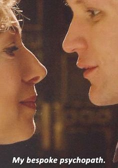 just realized this is the first time river kisses the doctor!!! yeah she was killing him but STILL....