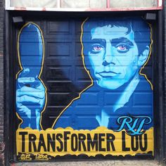 Goodbye Lou Reed - Brooklyn Street Art