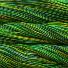 many shades of green I love color!