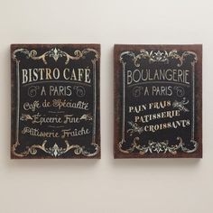 Bistro French Cafe Decor Sign   Kitchen / Coffee   Pinterest   French Cafe  Decor, French Cafe And Cafes