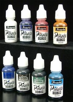 Use these alcohol based inks to tint your glass etching.  61-4500 - Pinata Glass Tint  Set