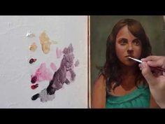 Pintar con veladuras 5. Retrato. Técnica grandes maestros. Curso de pintura. - YouTube
