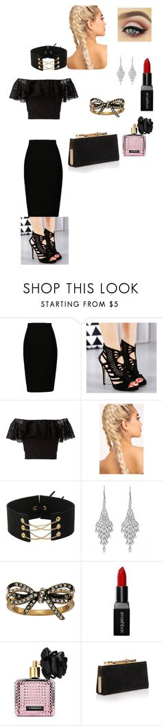 """""""women"""" by mawena-17 ❤ liked on Polyvore featuring Philosophy di Lorenzo Serafini, Allurez, Marc Jacobs, Smashbox, Victoria's Secret and Jimmy Choo"""