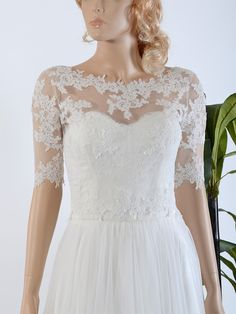 Bridal bolero lace WJ020