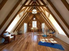 Home Gyms - AskMen yoga studio in attic from candelaria