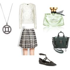 Silk skirts by rosaregaler on Polyvore featuring Topshop, Valentino, 3.1 Phillip Lim, Laura Lee, Bulgari, Joie and vintage