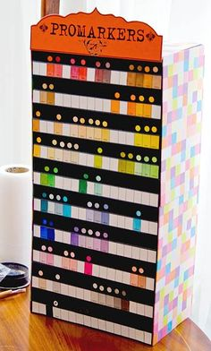 Make Something Nice: PROMARKER STORAGE TOWER.