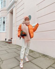 Nice And Slow, Winter Fits, Herschel Heritage Backpack, Puffer Jackets, Color Pop, Colour, Winter Fashion, Folk, Asos